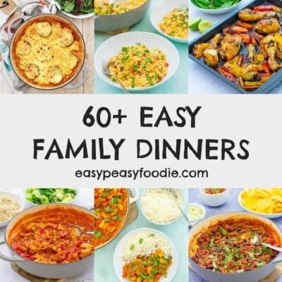 60 Easy Family Friendly Dinners